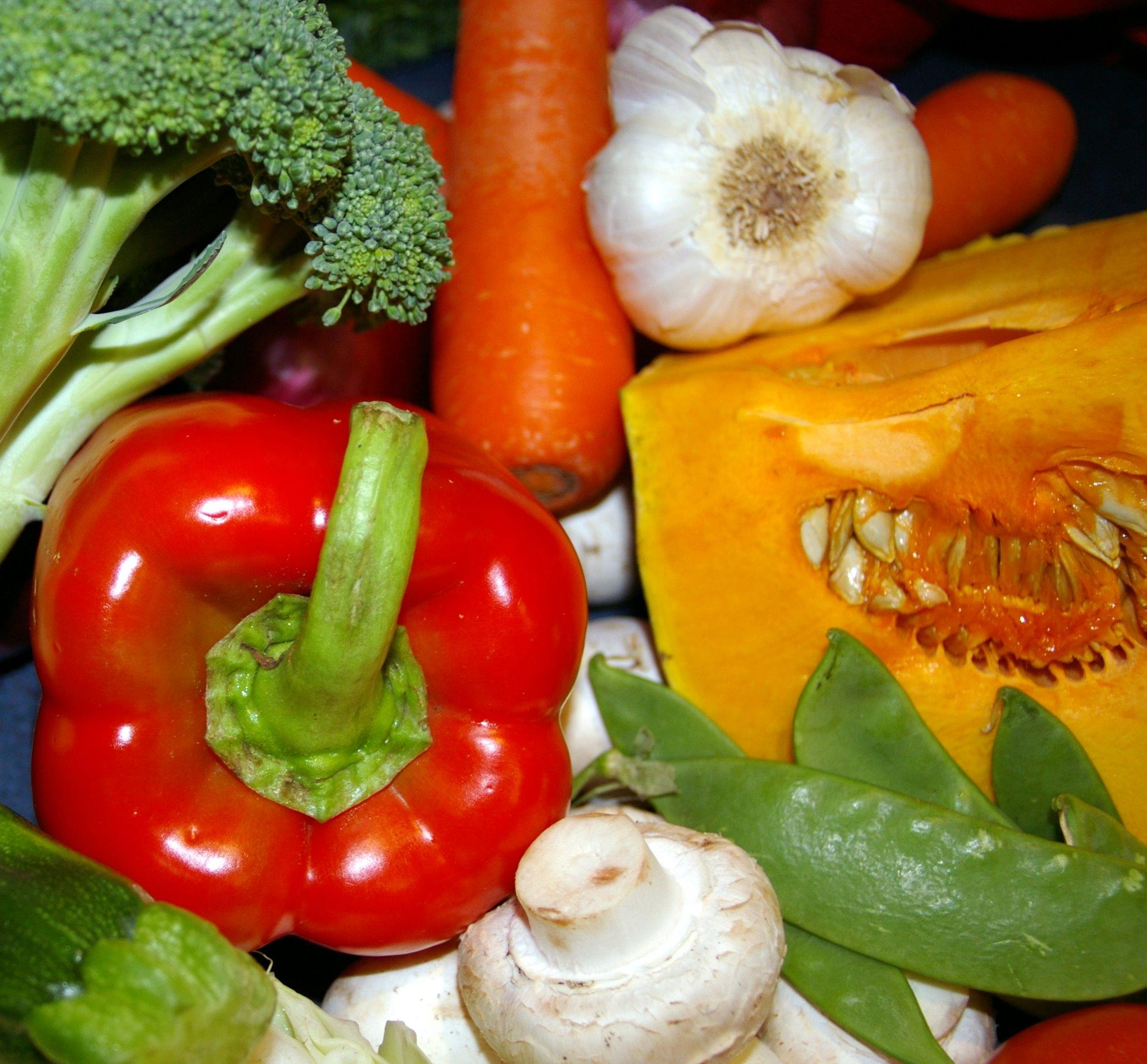 cafe sol - fresh vegetables 1